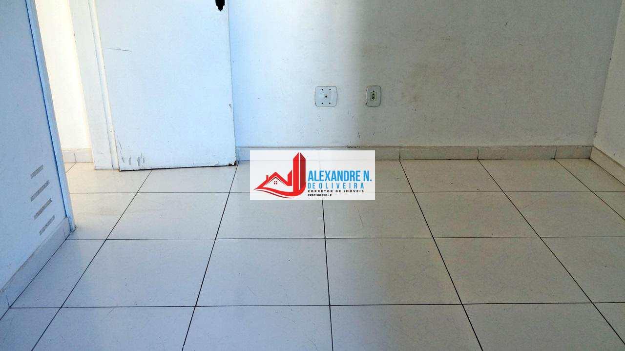 Vista mar, 3 dorms, Ocian, Praia Grande - R$ 280 mil, AP00632