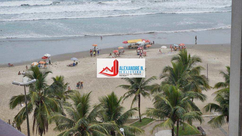 Vista ao mar, 2 dorms, Ocian, Praia Grande, R$ 230 mil, AP00048