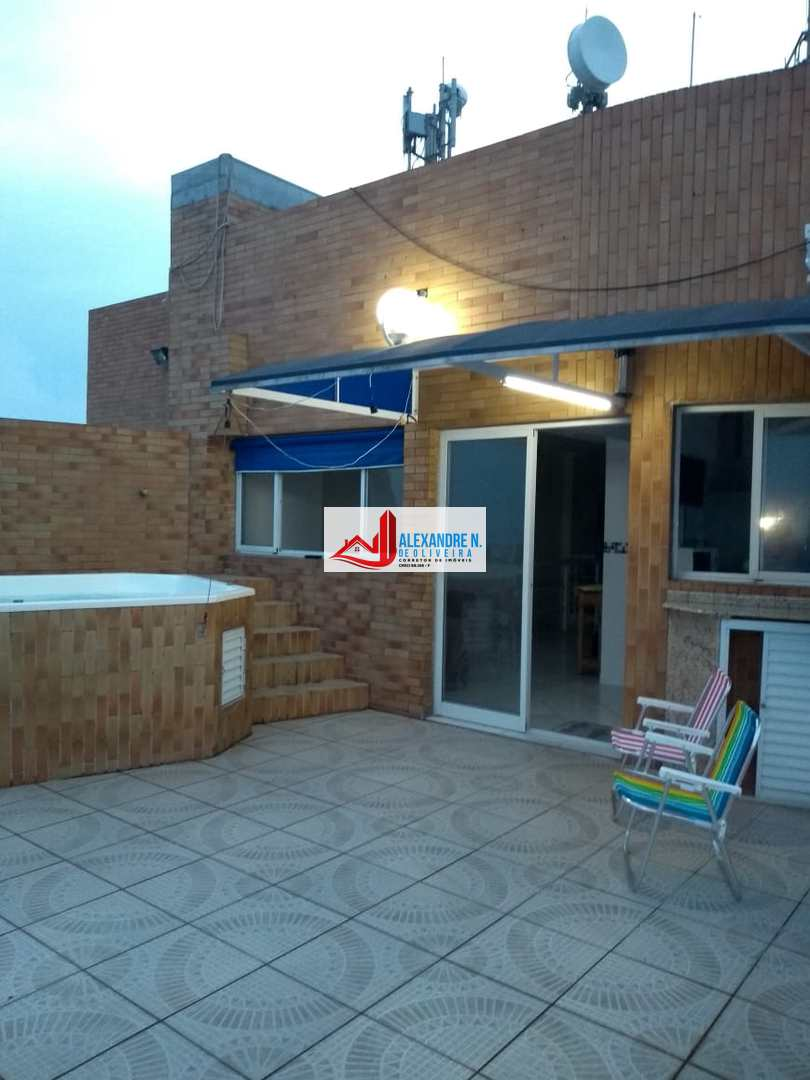 Cobertura 4 dorms, Ocian, Praia Grande - R$ 1.1 mi, COB00010