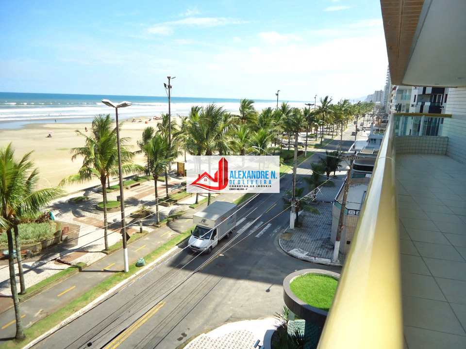Vista mar, 2 dorms, Aviação, Praia Grande, R$ 390 mil, AP00642