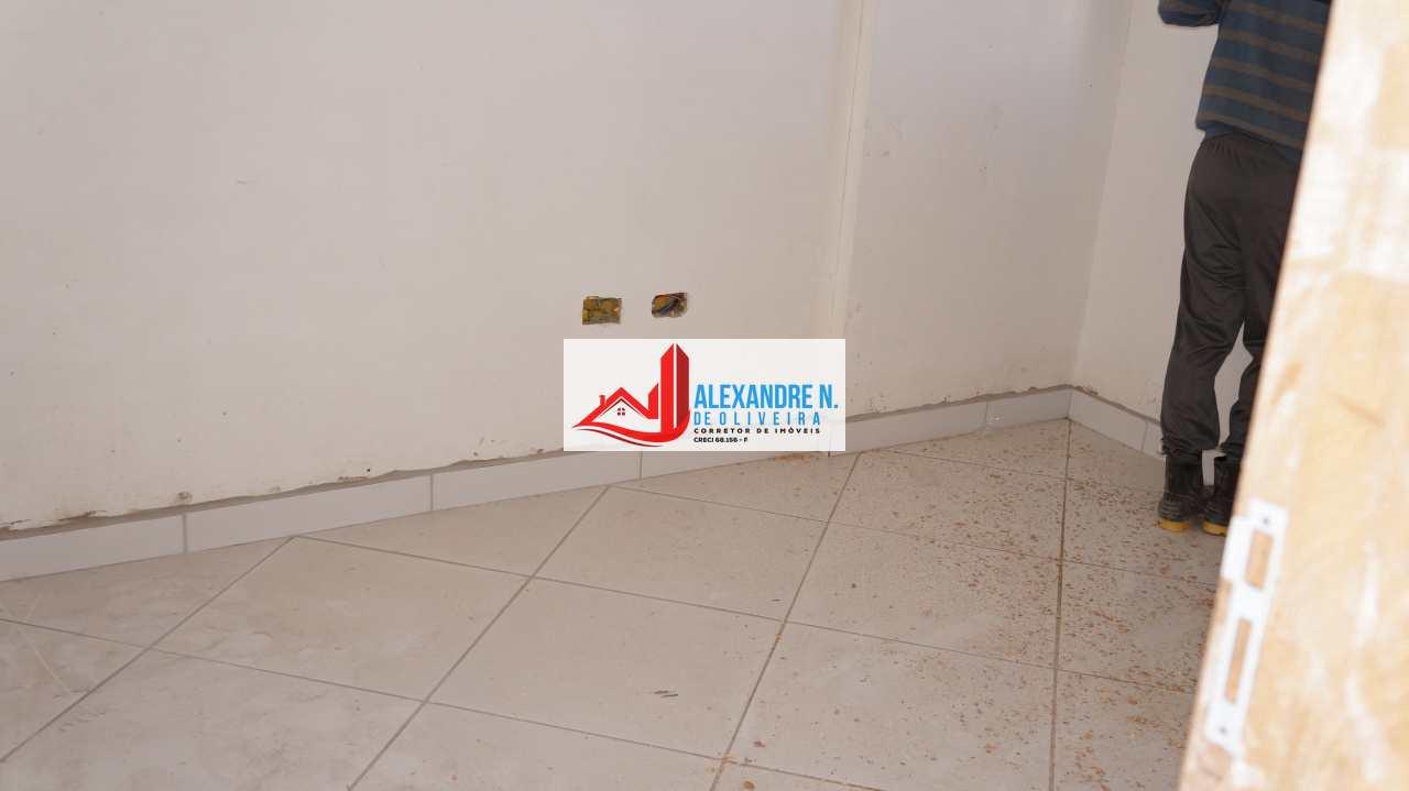 Vista-mar, 2 dorms, Ocian, Praia Grande, R$ 25 mil, AP00648