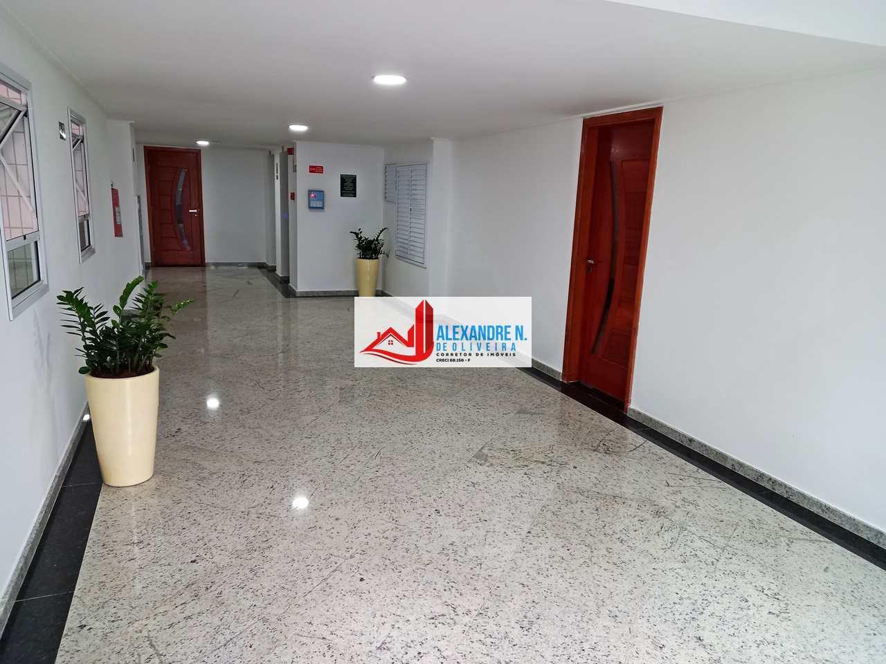 Vista-mar, 2 dorms, Ocian, Praia Grande, R$ 80 mil, AP00648