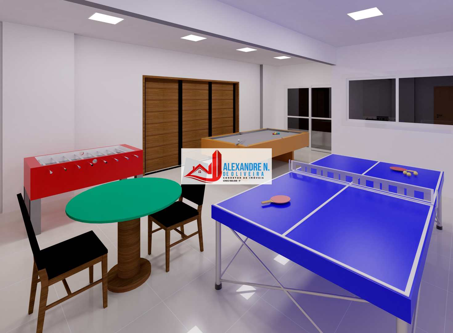 Vista-mar, 2 dorms, Praia Grande, Entr. R$ 44 mil, AP00658