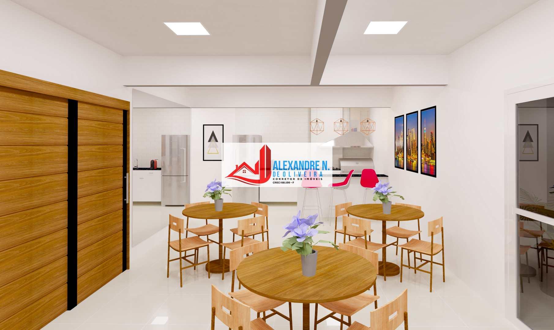 Vista mar, 2 dorms, Praia Grande, Entr. R$ 59 mil, AP00659
