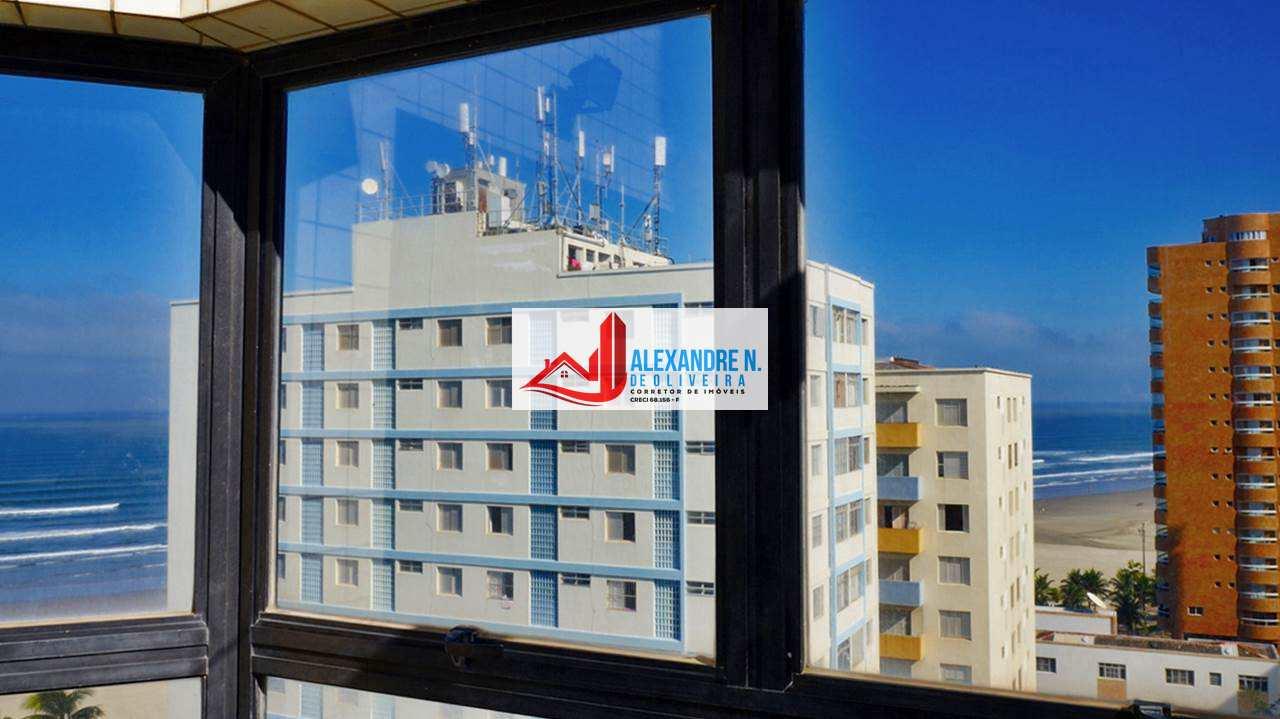 Cobertura, vista ao mar, 2 dorms, Ocian, Praia Grande, AP00661