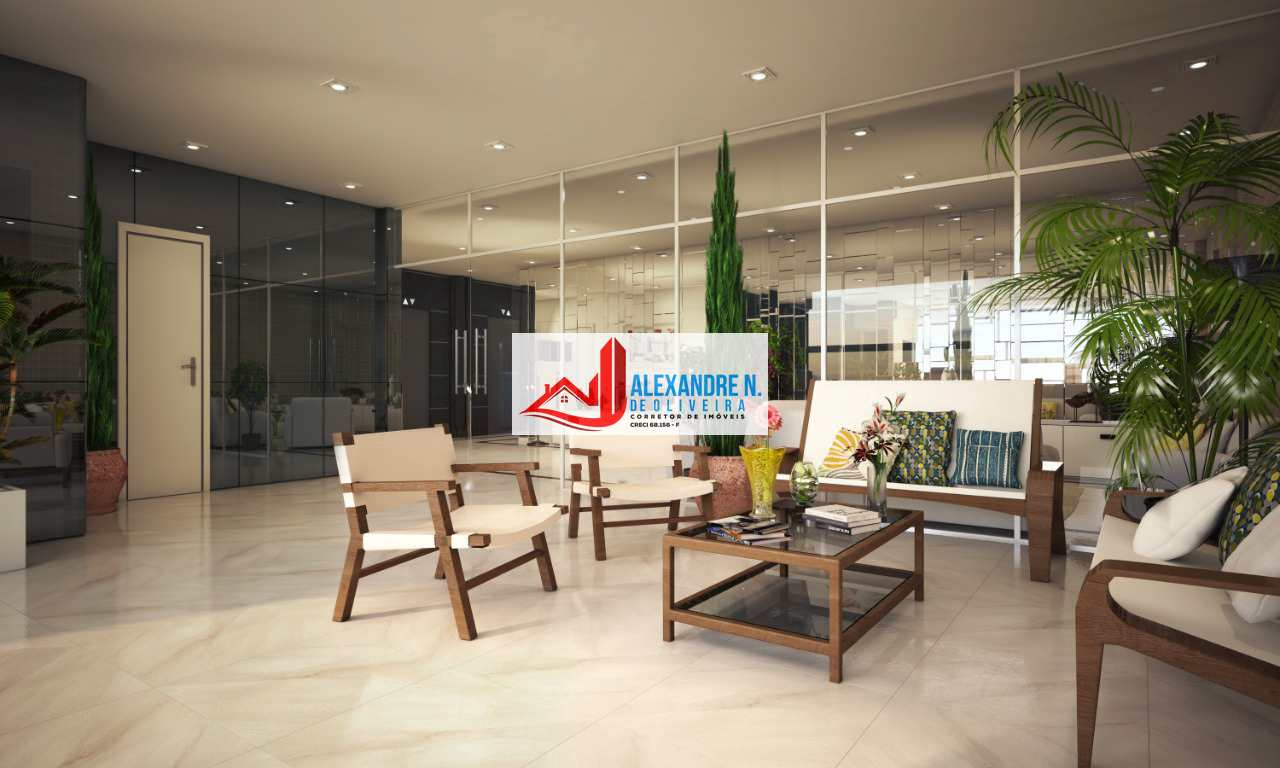 Frente-mar, 3 dorms, Maracanã, Praia Grande, R$ 60 mil, AP00669