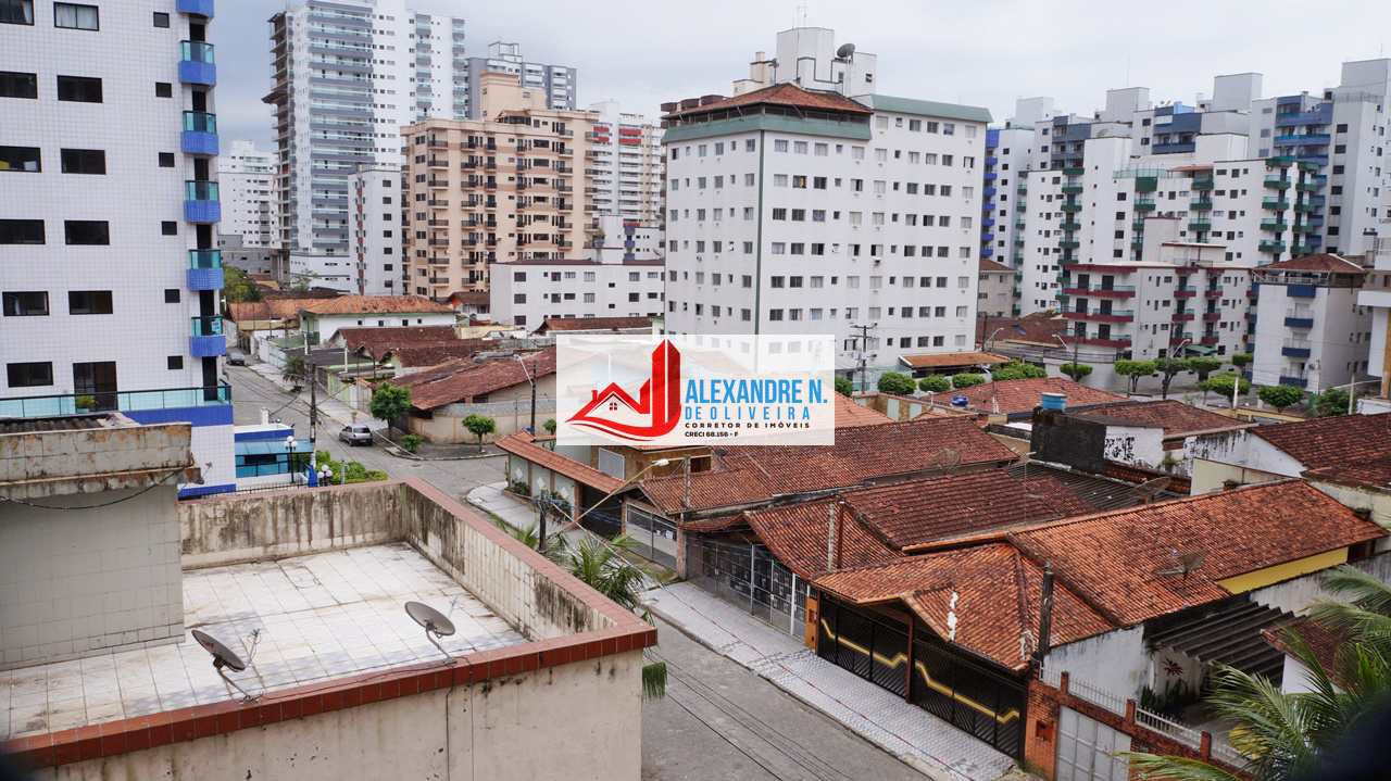 Vista mar, 1 dorm, Ocian, Praia Grande - R$ 160 mil, AP00672