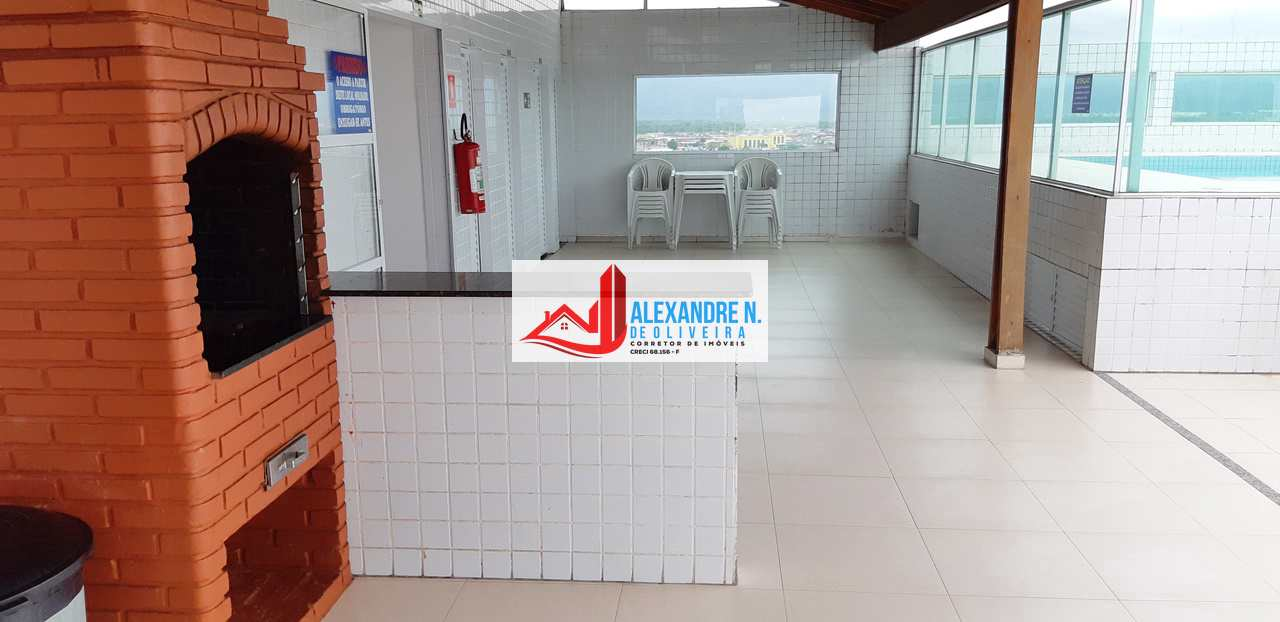 Vista mar, 1 dorm, Mirim, Praia Grande - R$ 180 mil, AP00680