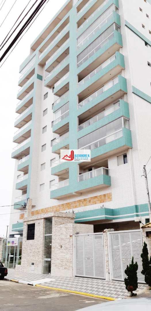 Vista-mar, 1 dorm, Mirim, Praia Grande, R$ 170 mil, AP00682