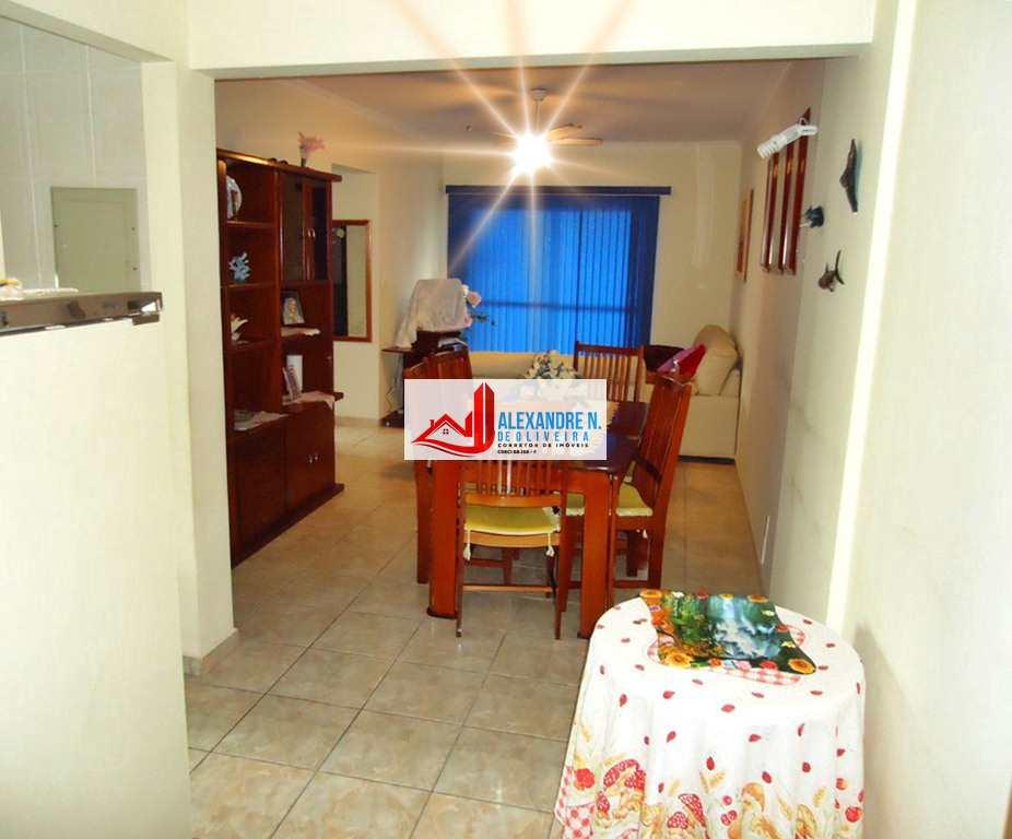 Vista mar, 2 dorms, Ocian, Praia Grande, R$ 270 mil, AP00684