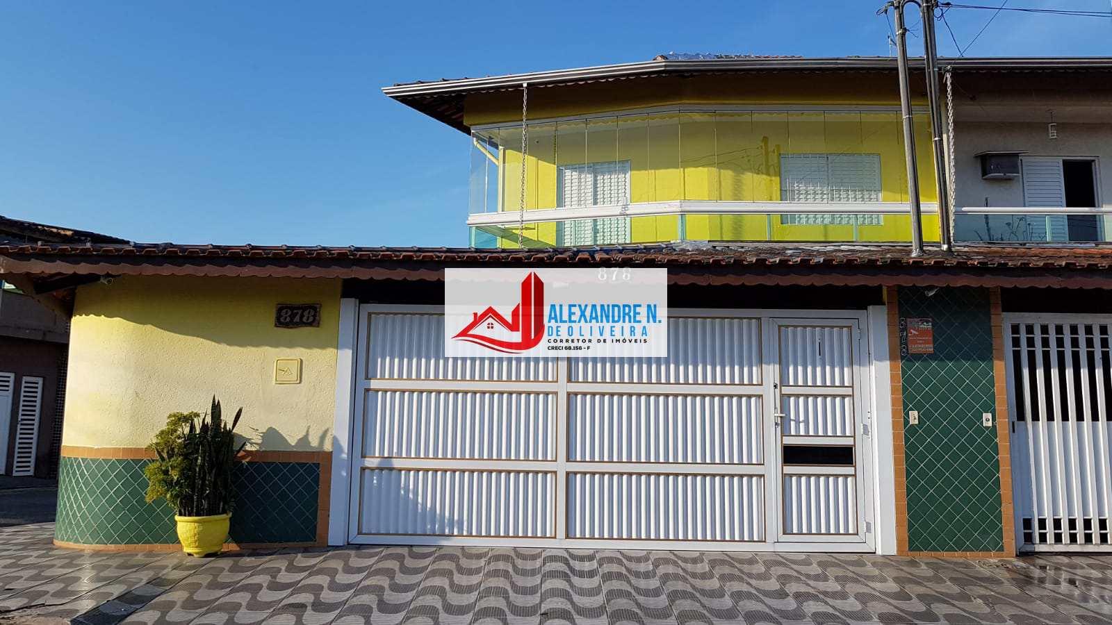 Sobrado 3 dorms, suíte, Tupi, Praia Grande, R$ 340 mil, SB00017