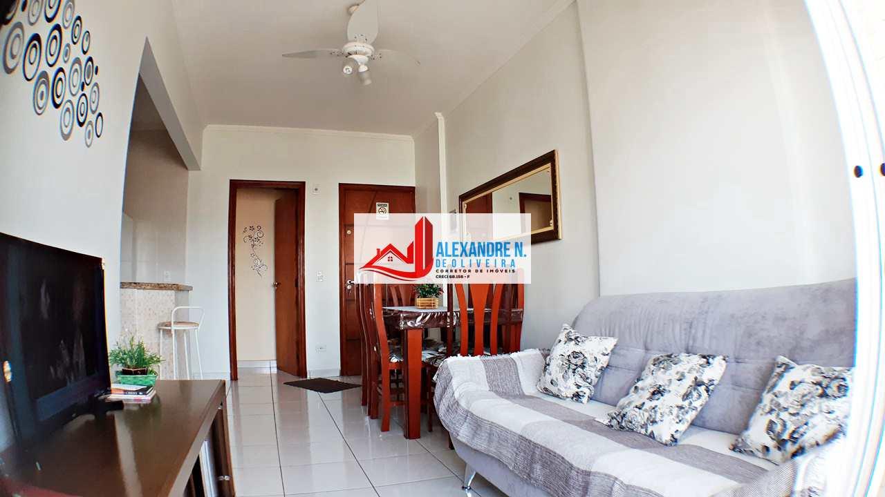 Vista-mar, 2 dorms, Ocian, Praia Grande - R$ 270 mil, AP00689