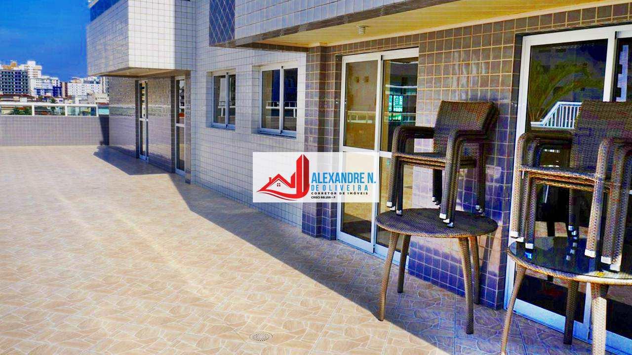 Apartamento 3 dorms, Ocian, Praia Grande - R$ 460 mil, AP00696