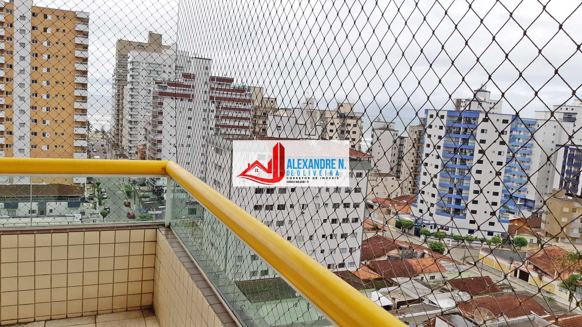 Vista mar, 2 dorms, Ocian, Praia Grande, R$ 80 mil, AP00705