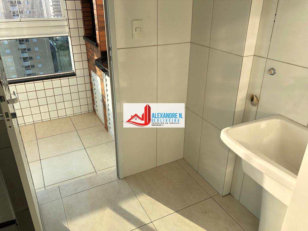 Vista-mar, 2 dorms, Caiçara, Praia Grande, R$ 430 mil, AP00715