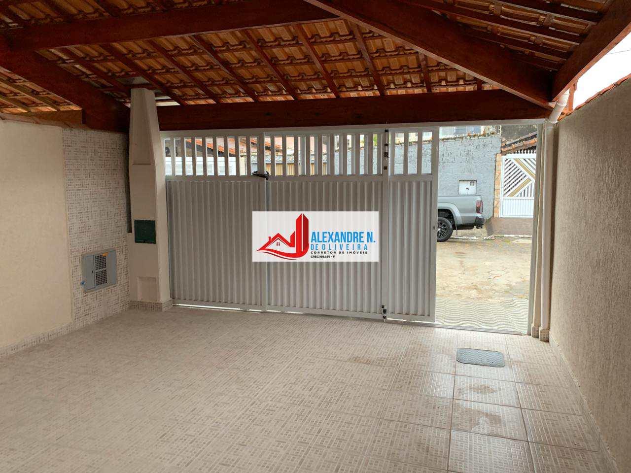 Casa com 2 dorms, Mirim, Praia Grande - R$ 260 mil, CA00022