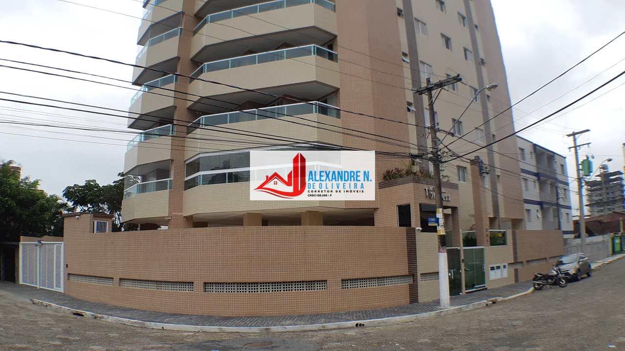 Apto novo 2 dorms, Ocian, Praia Grande, Entr R$ 80 mil, AP00722