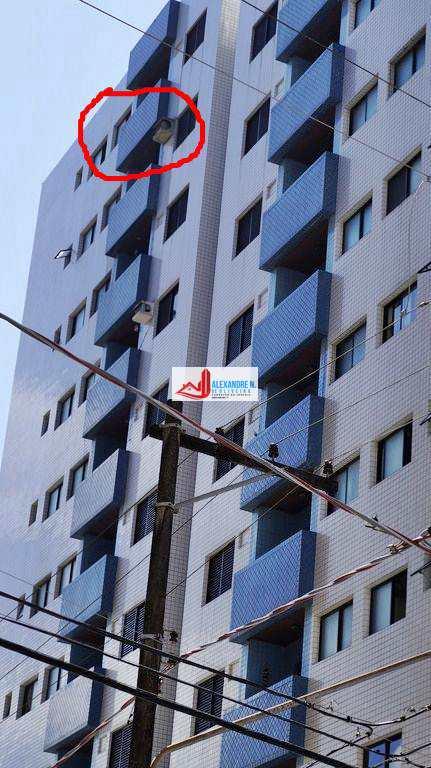 Apartamento 1 dorm, Aviação, Praia Grande - R$ 149 mil, AP00723