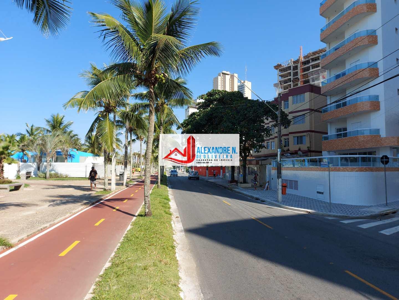 Vista mar, 2 dorms, Mirim, Praia Grande - R$ 260 mil, AP00725