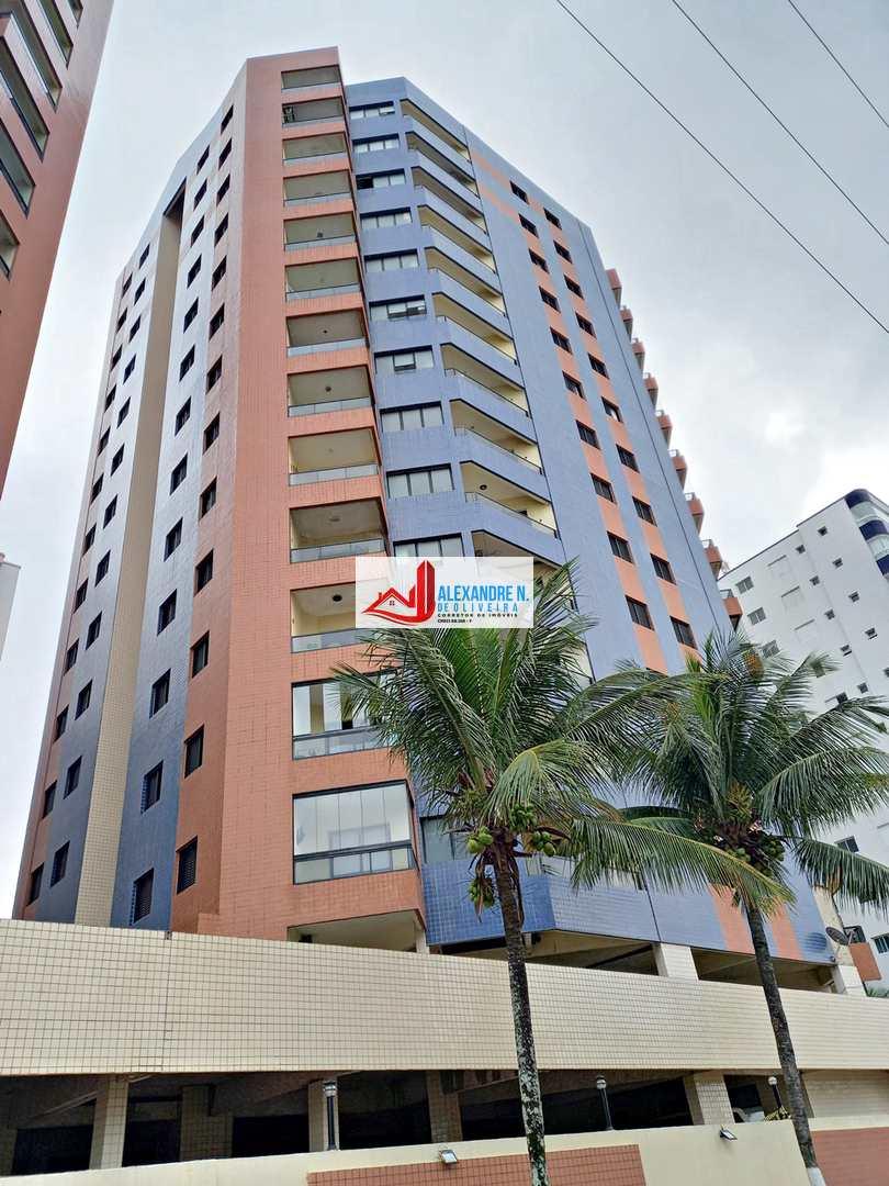 Vista-mar, 2 dorms, Aviação, Praia Grande, R$ 220 mil, AP00730