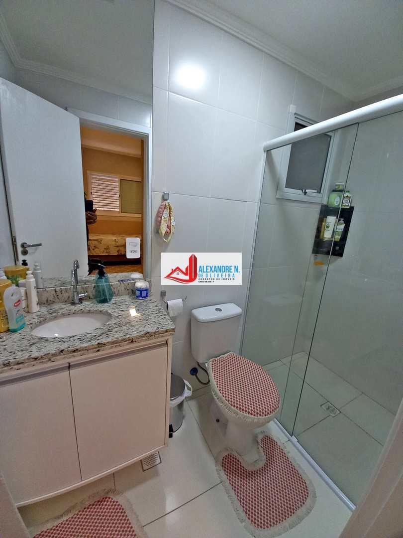 Vista mar, 3 suítes, Ocian, Praia Grande - R$ 790 mil, AP00747