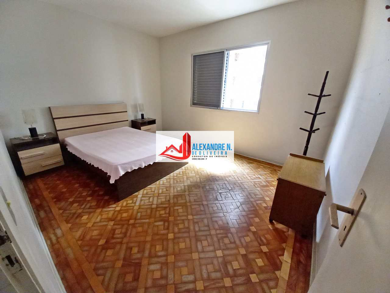 Vista-mar, 3 dorms, Ocian, Praia Grande, R$ 230 mil, AP00753
