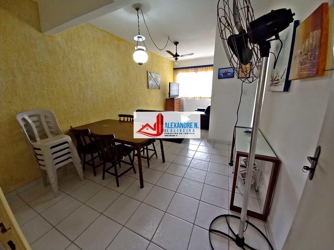 Apartamento 1 dorm, Caiçara, Praia Grande, R$ 140 mil, AP00755