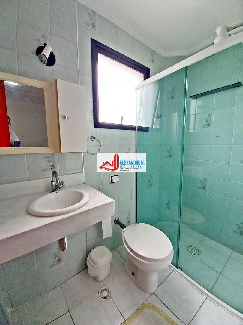 Vista mar, 2 dorms, Ocian, Praia Grande, R$ 230 mil, AP00587
