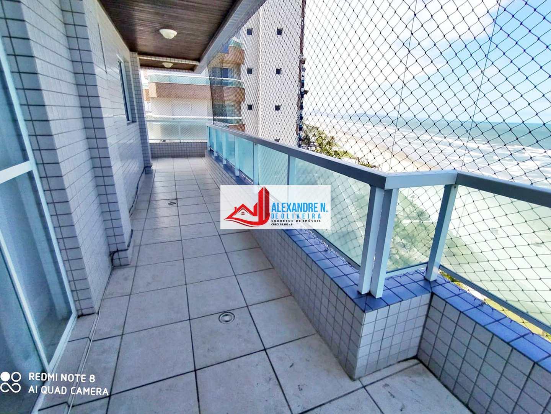 Frente mar, 2 dorms, Caiçara, Praia Grande, R$ 424 mil, AP00763