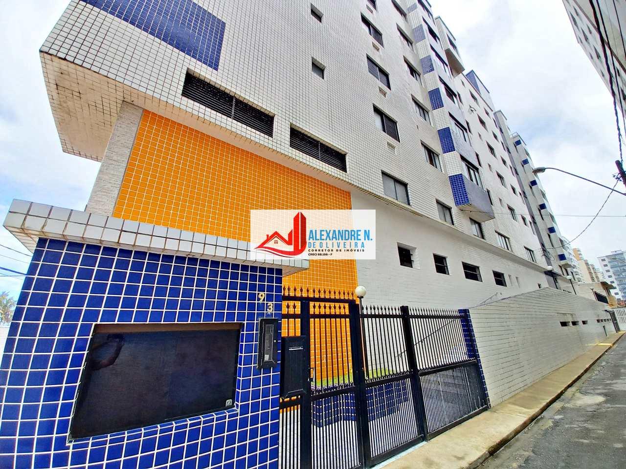 Vista mar, 1 dorm, Ocian, Praia Grande - R$ 170 mil, AP00770