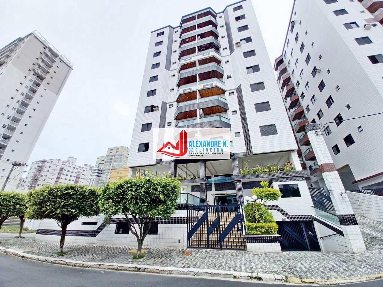 Apartamento com 1 dorm, Ocian, Praia Grande - R$ 180 mil, Cod: AP00771