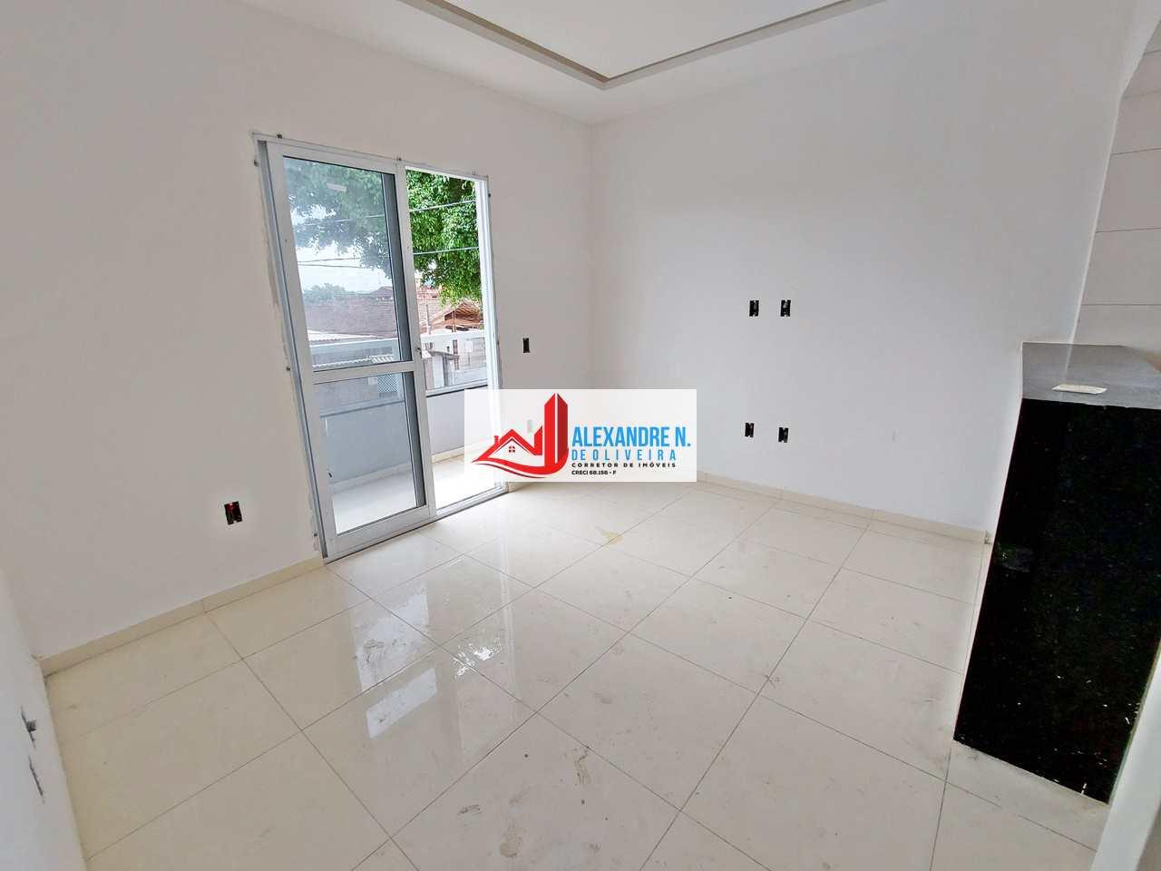 Sobrado novo, 2 dorms, Tupi, Praia Grande, R$ 245 mil, SB00026