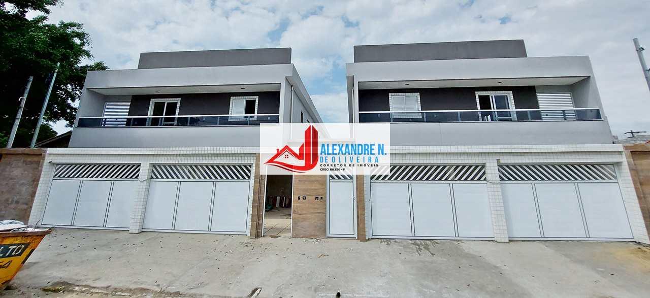 Sobrado novo, 2 dorms, Tupi, Praia Grande, R$ 250 mil, SB00027