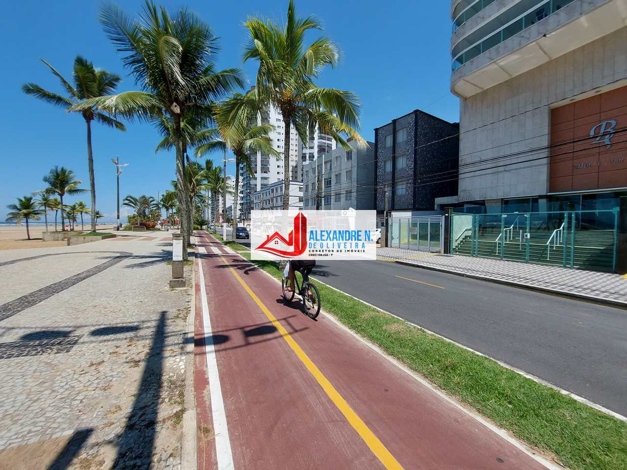 Frente mar, 2 dorms, Aviação, Praia Grande, R$ 390 mil, AP00782