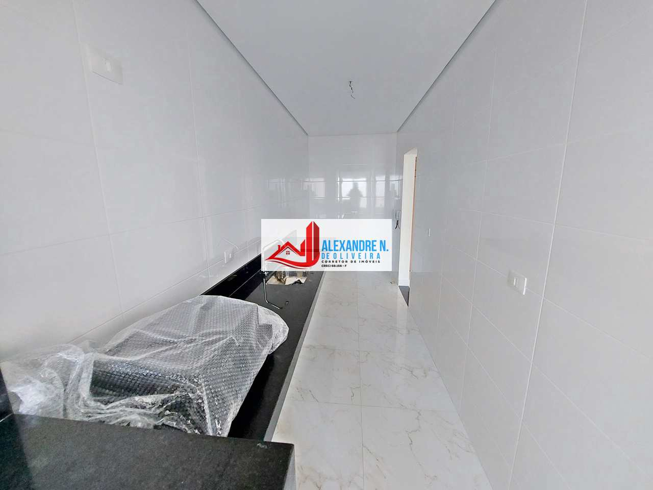 Alto padrão 2 dorms, Caiçara, Praia Grande, R$ 350 mil, AP00790
