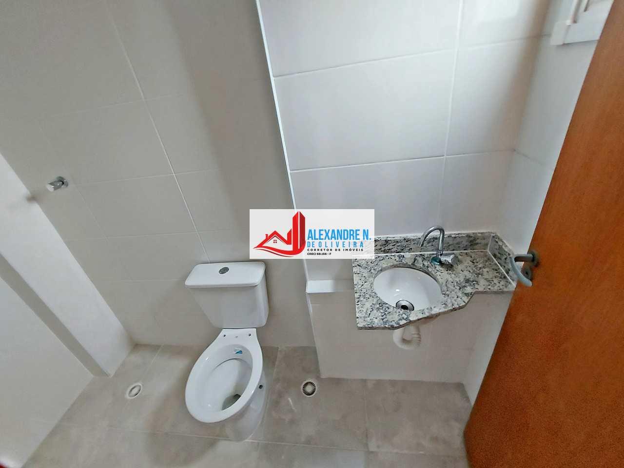 Apartamento 2 dorms, Ocian, Praia Grande - R$ 250 mil, AP00798