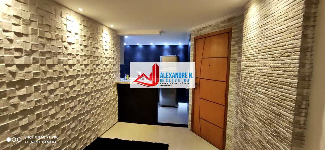 Apartamento com 2 dorms, Tupi, Praia Grande - R$ 350 mil, Cod: AP00801