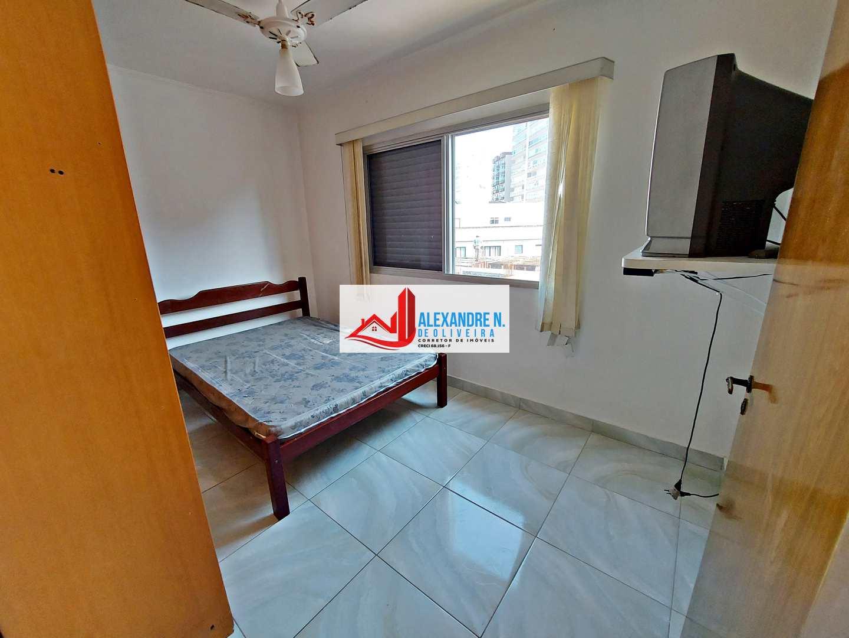 Vista mar, 2 dorms, Caiçara, Praia Grande, R$ 215 mil, AP00803