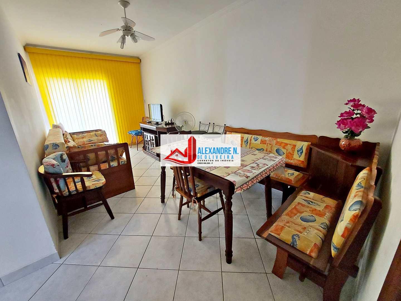 Vista mar, 2 dorms, Ocian, Praia Grande, R$ 280 mil, AP00804