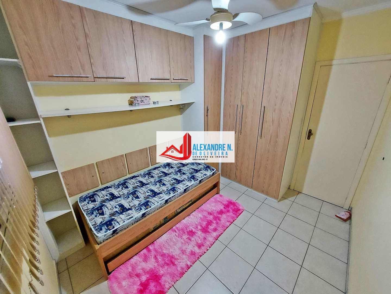 Vista mar, 2 dorms, Ocian, Praia Grande - R$ 300 mil, AP00806