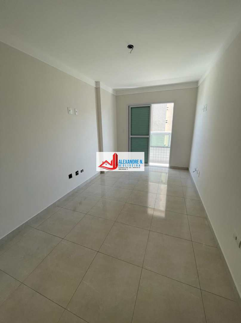 Apartamento 2 dorms, Caiçara, Praia Grande, R$ 420 mil, AP00809