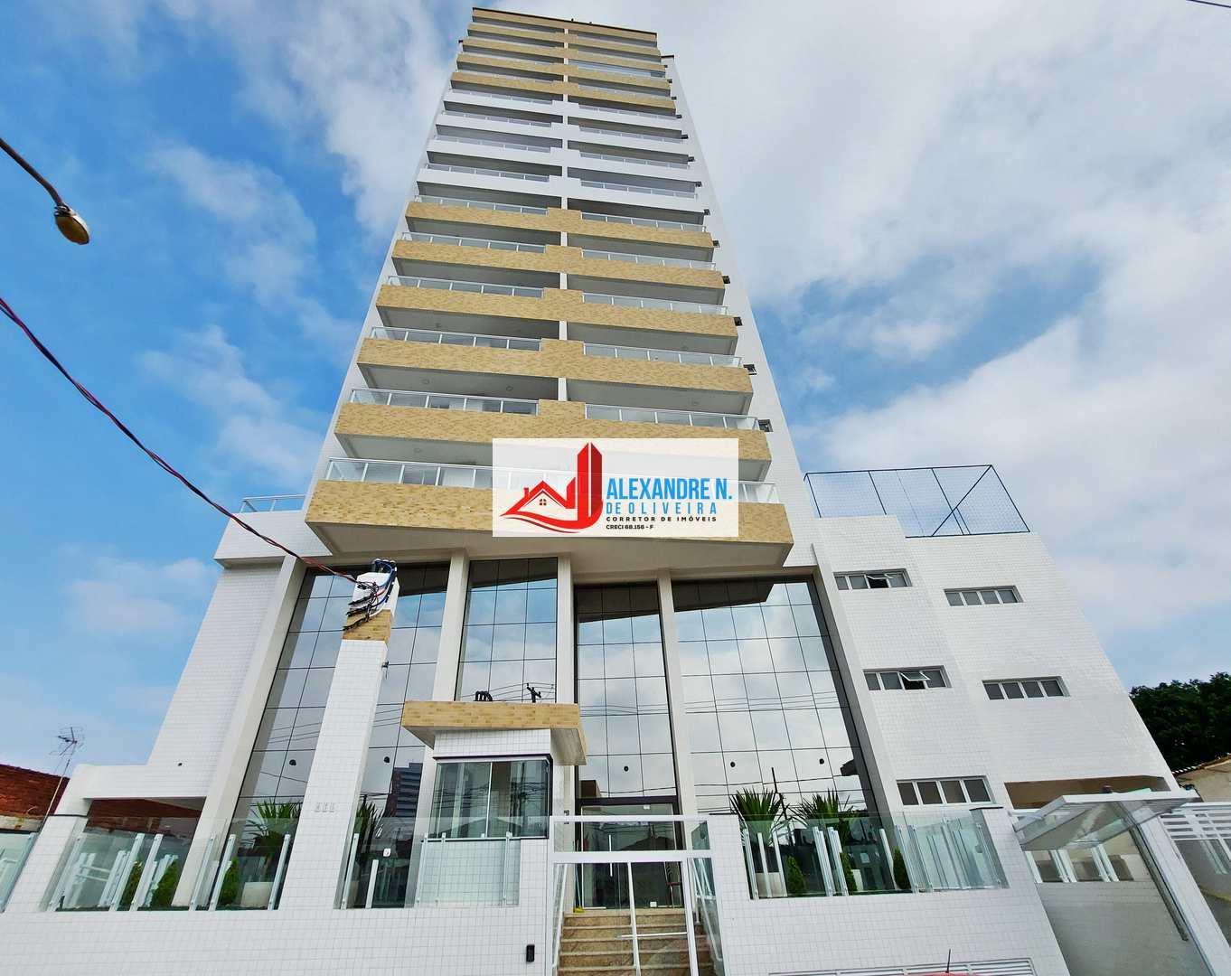 Apartamento 2 dorm, Aviação, Praia Grande, R$ 341 mil, AP00810