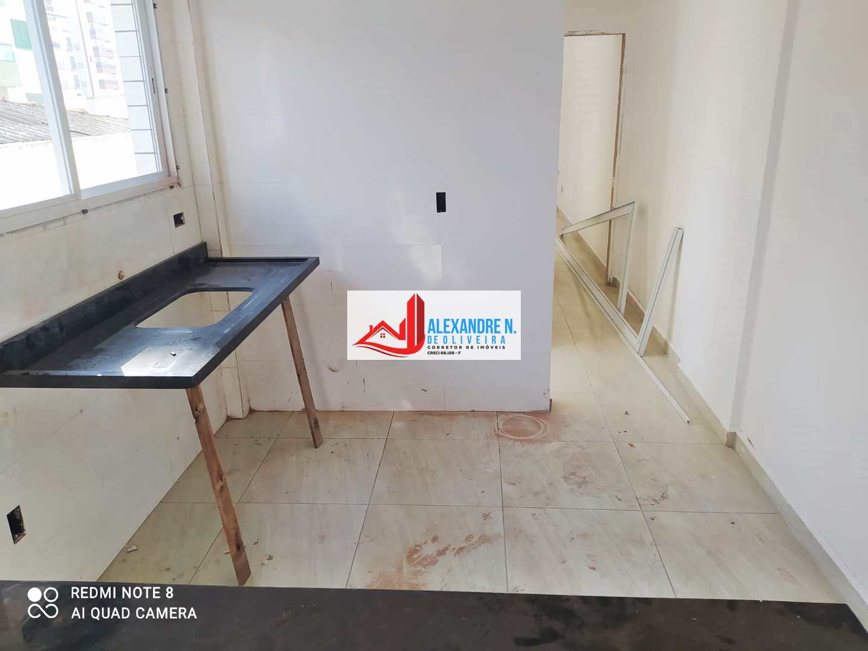 Apartamento 1 dorm, Aviação, Praia Grande - R$ 200 mil, AP00840