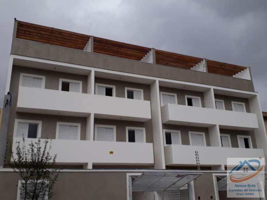 Cobertura 97m² com 2 dorm Vl Pinheirinho Sto André R$ 288.000