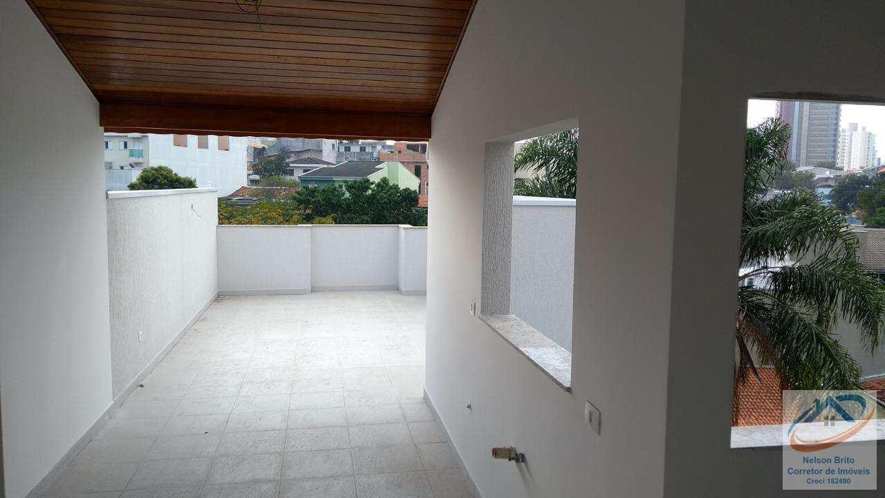 Cobertura com 2 dorms, Vila Guiomar, Santo André