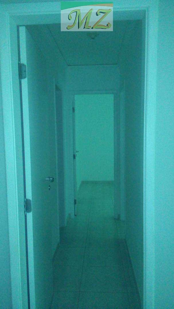 hall de distribuição dormitórios e banheiros