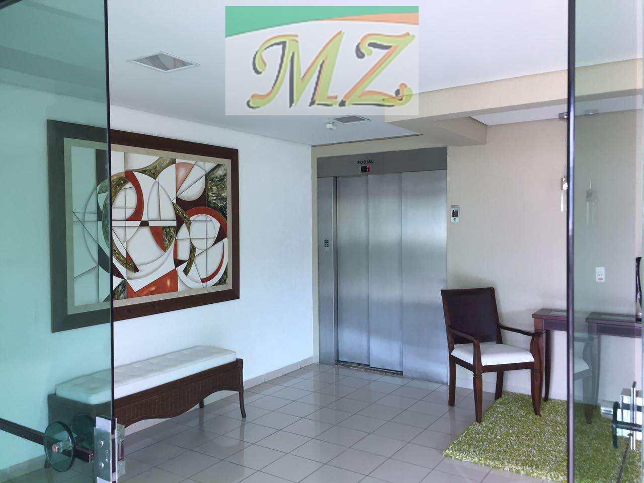 recepção e elevador