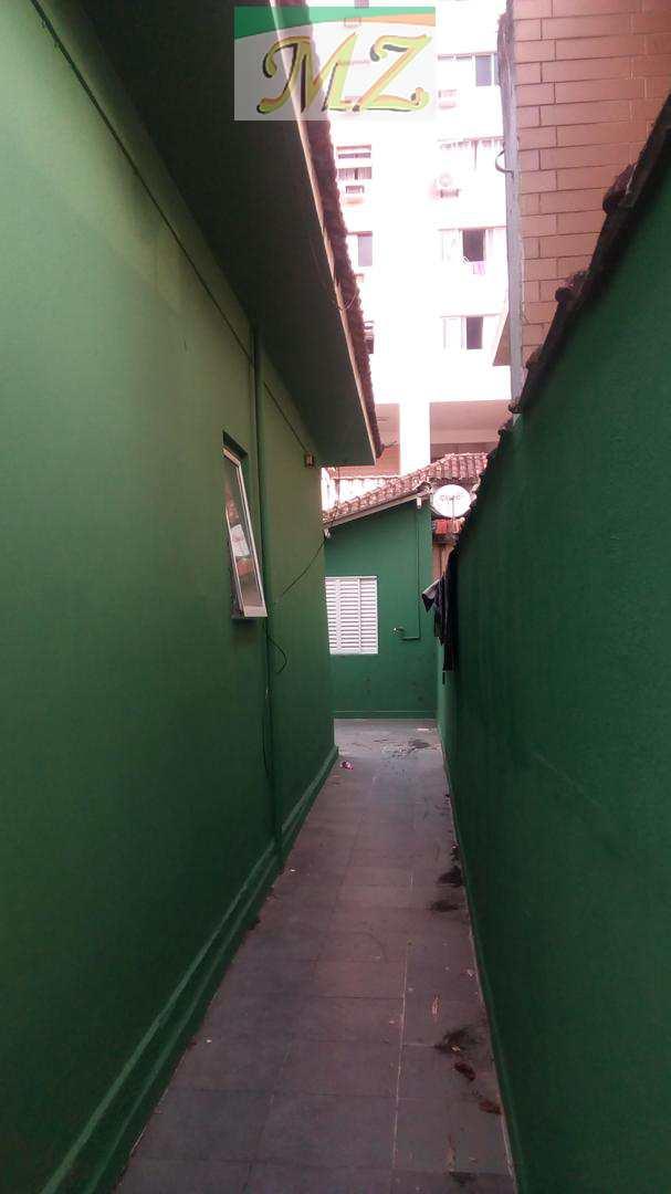 entrada lateral da casa
