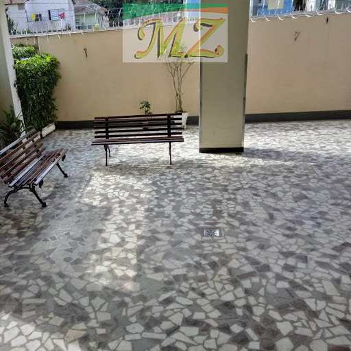 Apartamento com 2 dorms, José Menino, Santos, Cod: 74