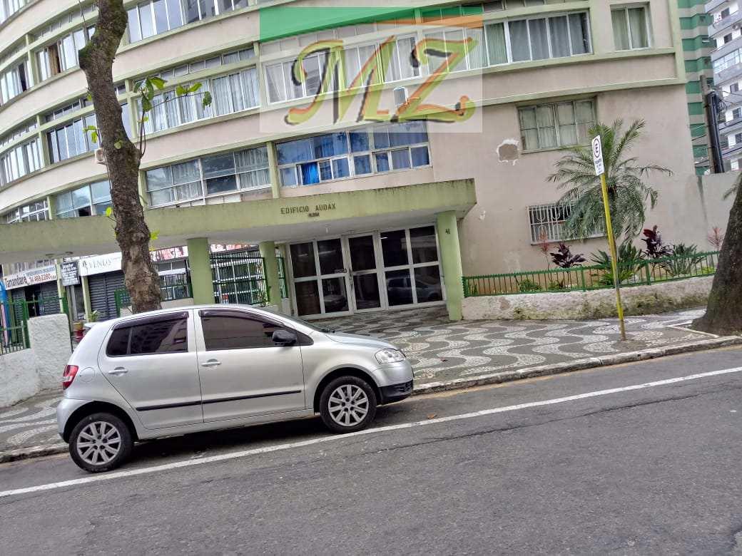 Apartamento com 1 dorm, Centro, São Vicente, Cod: 75